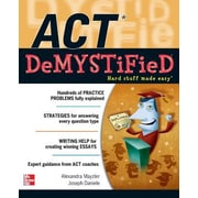 ACT Demystified, Paperback (9780071754439)