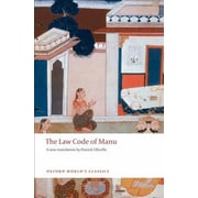 The Law Code of Manu, Paperback (9780199555338)