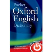 Pocket Oxford English Dictionary, 0011, Hardcover (9780199666157)