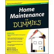Home Maintenance for Dummies, 0002, Paperback (9780470430637)