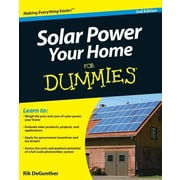 Solar Power Your Home for Dummies, 0002, Paperback (9780470596784)