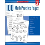 100 Math Practice Pages (Grade 2), Paperback (9780545799386)