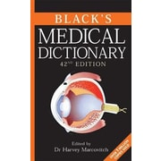 Black's Medical Dictionary, 0042, Hardcover (9780713689020)