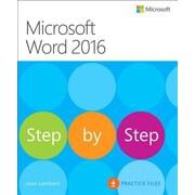 Microsoft Word 2016 Step by Step, Paperback (9780735697775)
