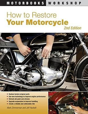 How to Restore Your Motorcycle, 0002, Paperback (9780760337721) 2332279