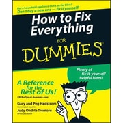 How to Fix Everything for Dummies, Paperback (9780764572098)