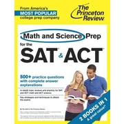 Math and Science Prep for the SAT & ACT, Paperback (9780804124553)