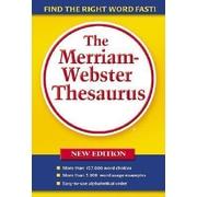 Merriam Webster Thesaurus, Paperback (9780877796374)