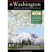 Washington Road & Recreation Atlas, 0004, Paperback (9780929591988)