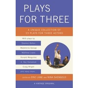Plays for Three, Paperback (9781101872291)