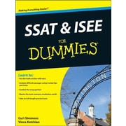 SSAT and ISEE for Dummies, Paperback (9781118115558)