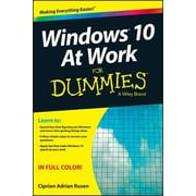 Windows 10 at Work for Dummies, Paperback (9781119051855)