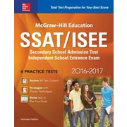 McGraw-Hill Education SSAT/ISEE, 0004, Paperback (9781259586231)
