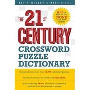 The 21st Century Crossword Puzzle Dictionary, Paperback (9781402721342)