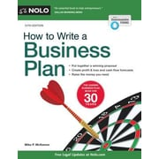 How to Write a Business Plan, 0012, Paperback (9781413320787)