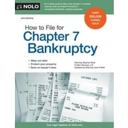 How to File for Chapter 7 Bankruptcy, 0019, Paperback (9781413321944)