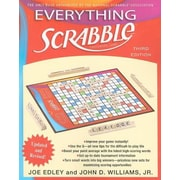 Everything Scrabble: Crossword Game, 0003, Paperback (9781416561750)