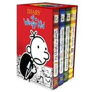 Diary of a Wimpy Kid Boxed Set: Diary of a Wimpy Kid/Rodrick Rules/The Last Straw/Dog Days, Hardcover (9781419716690)