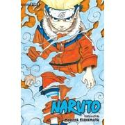Naruto 3-In-1 V01: Volumes 1,2 and 3, Paperback (9781421539898)