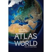 National Geographic Atlas of the World, 0010, Hardcover (9781426213540)