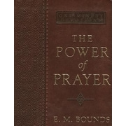The Power of Prayer Lux-Leather, Hardcover (9781432105877)