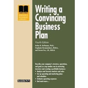 Writing a Convincing Business Plan, 0004, Paperback (9781438004808)