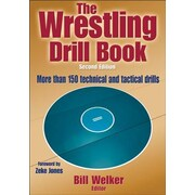 The Wrestling Drill Book-2nd Edition, 0002, Paperback (9781450432160)