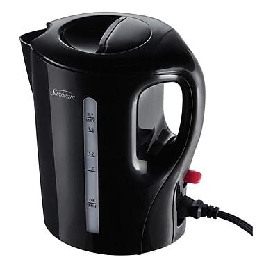 Sunbeam® 1.7L Detachable Cord Electric Kettle, Black