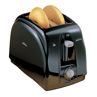 Sunbeam 2-Slice Toaster, Black