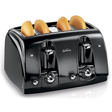 Sunbeam 4-Slice Toaster, Black