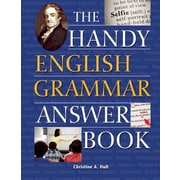 The Handy English Grammar Answer Book, Paperback (9781578595204)