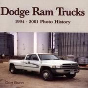 Dodge RAM Trucks: 1994-2001 Photo History, Paperback (9781583880517)