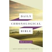 Daily Chronological Bible-NKJV, Paperback (9781586409418)