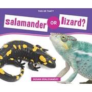 Salamander or Lizard?, Hardcover (9781624032899)