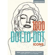 1000 Dot-To-Dot: Icons, Paperback (9781626860650)