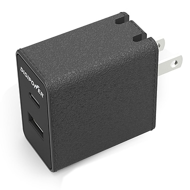 Digipower CT-AC3 Type C wall charger with A and C ports