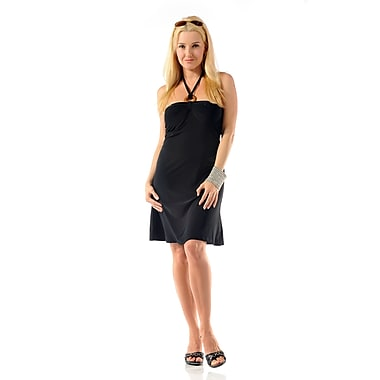 Toujours Elegant Bra Cup Dress, Black, Small, (4358)