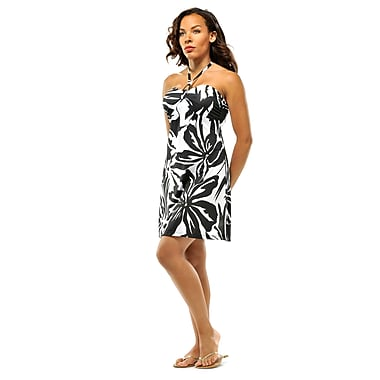 Toujours Elegant Bra Cup Dress, Blwhaloha, X-Large, (4358)
