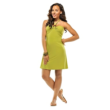 Toujours Elegant Bra Cup Dress, Green, X-Large, (4358)