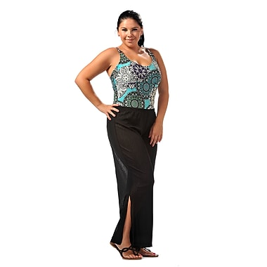 Toujours Elegant Beach Pant, Black, Small/Medium, (4611)