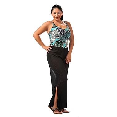 Toujours Elegant Beach Pant, Black, Large/X-Large, (4611)