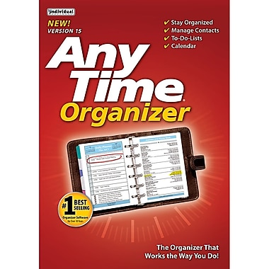 Individual Software AnyTime Organizer Standard 15 for Windows, 2016 (1 User) [Download]