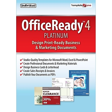 Individual Software OfficeReady Platinum 4 for Windows, 2016 (1 User) [Download]