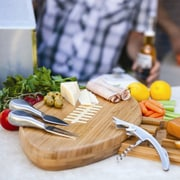 Picnic Time Quarterback Cutting Cheese Tray