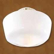 Hunter Fan Original Schoolhouse 8.5'' Glass Fan Bowl Shade