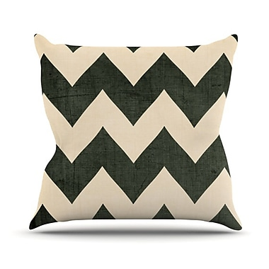 KESS InHouse Throw Pillow; 20'' H x 20'' W