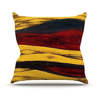 KESS InHouse Sheets Throw Pillow; 26'' H x 26'' W