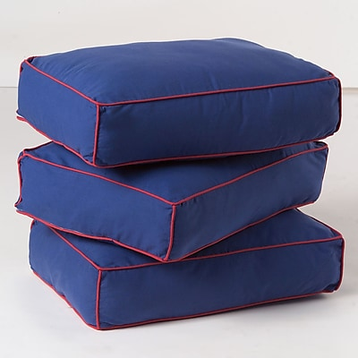 Maxtrix Kids Pillow Cover (Set of 3); Blue / Red