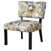 Powell Floral Slipper Chair