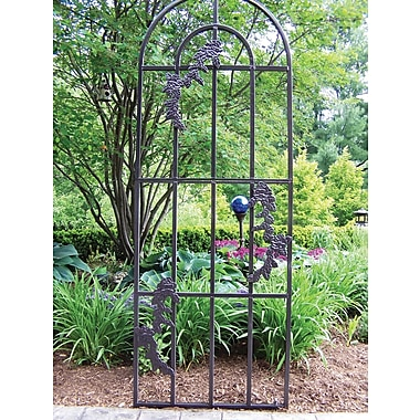 Oakland Living Rose Steel Arched Trellis